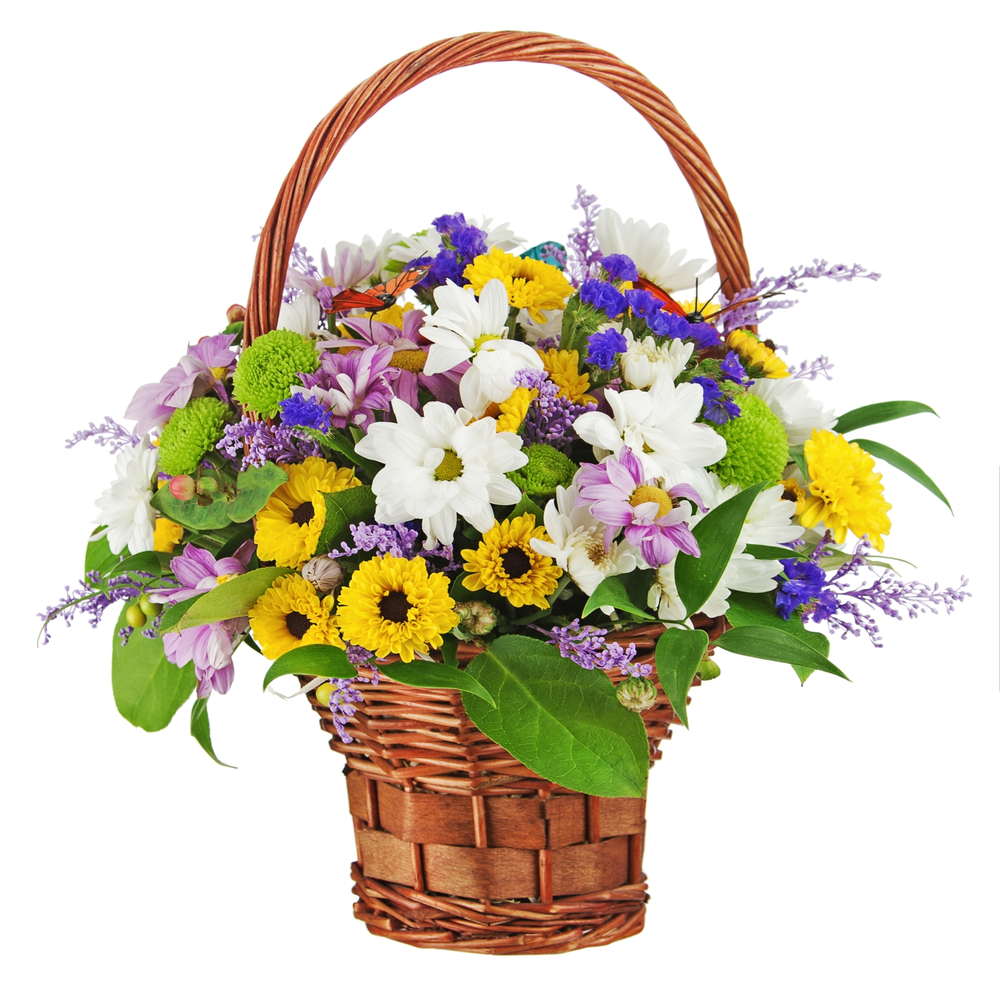Flower Basket Arrangements Pictures : Gift baskets houston tx flower arrangement delivery